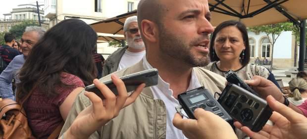 El portavoz de En Marea, Luís Villares