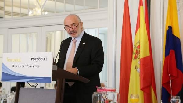 Embajador de Colombia en España, Alberto Furmanski