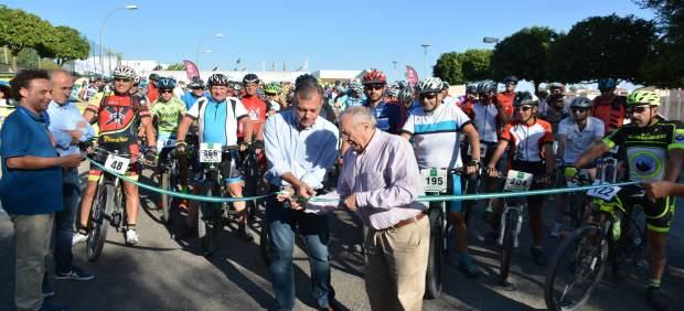 Marcha cicloturista en BTT de Tomares (Sevilla)