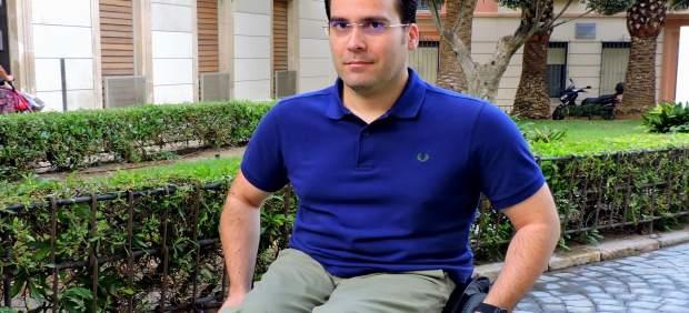 El concejal del PSOE en Almería Pedro Díaz