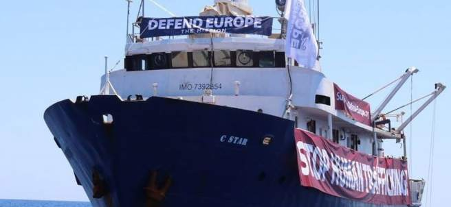 Barco C-Star, Defend Europe.