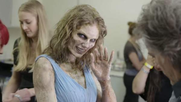 Taylor Swift, transformada en zombie