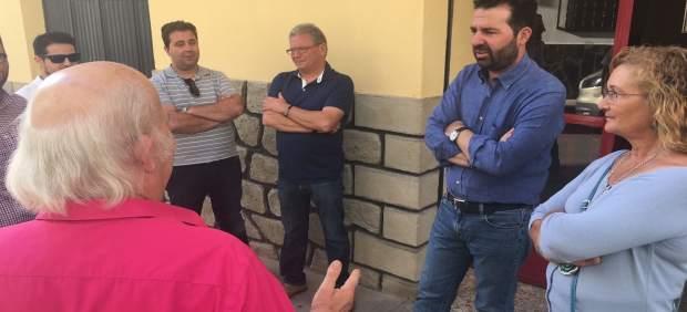 Encuentro de Noel López con militantes