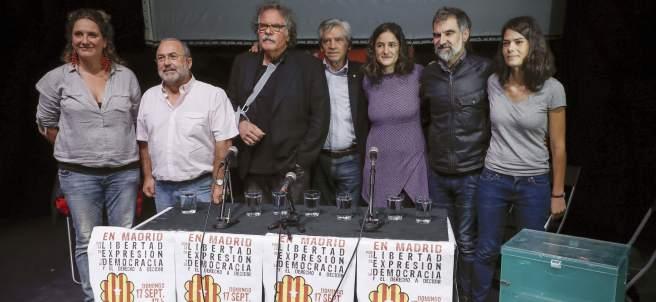 Acto prorreferéndum en Madrid