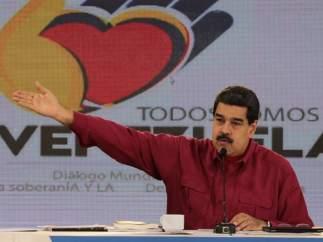 """Maduro dice que no fue a la ONU para evitar """"posibles atentados"""" de sectores extremistas de EE UU"""