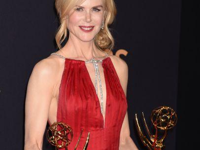 Nicole Kidman, con sus dos Emmy
