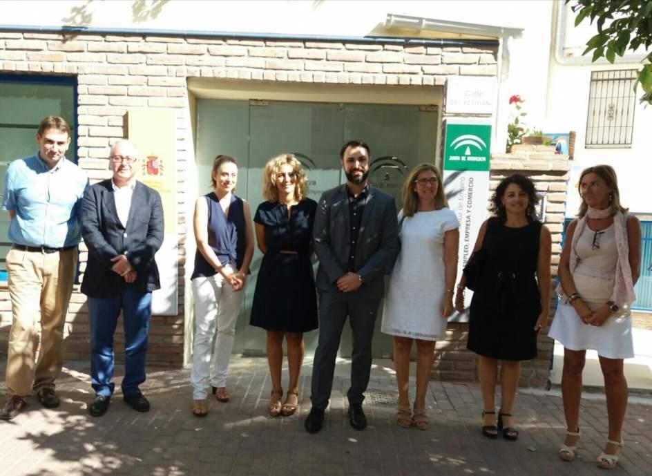Nerja abre su nueva oficina del servicio andaluz de empleo for Oficina de empleo huelva