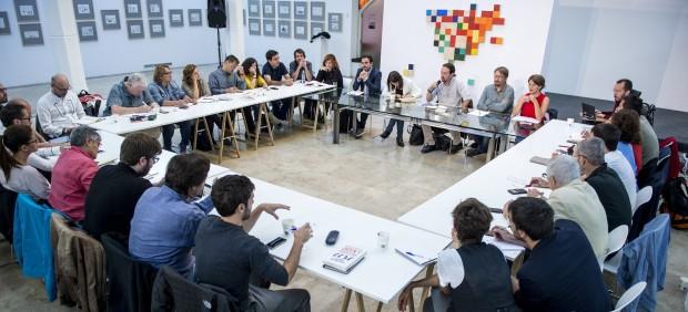 Podemos prescinde de su líder en Cataluña en la discusión sobre el reto independentista