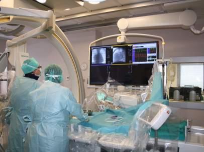 Quirófano de un hospital del SAS