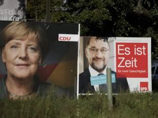 Campaña para las elecciones generales en Alemania