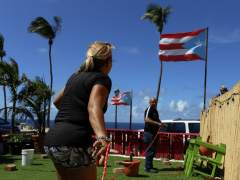 El huracán María deja un muerto en las islas Guadalupe