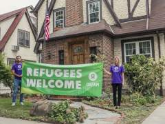 Oxfam alquila la casa de Trump cuando era niño para alojar a refugiados