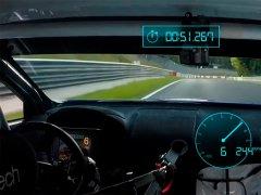 Récord de una berlina de Subaru en Nürburgring