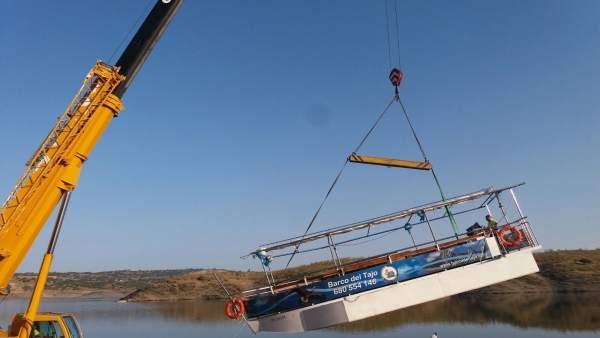 Tercer barco que navegará por el Tajo