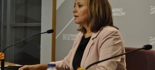 La consejera de Educación del Gobierno de Aragón, Mayte Pérez.