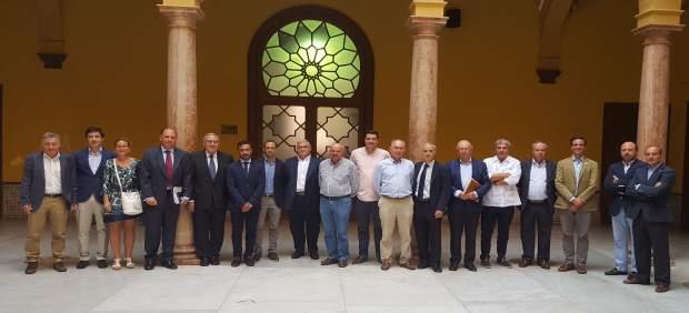 Constitución de la mesa de la Manzanilla en Sanlúcar