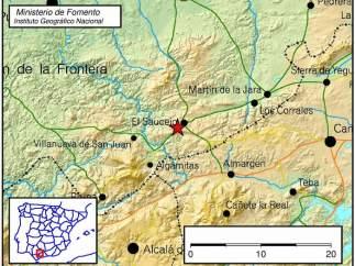 Terremoto en El Saucejo