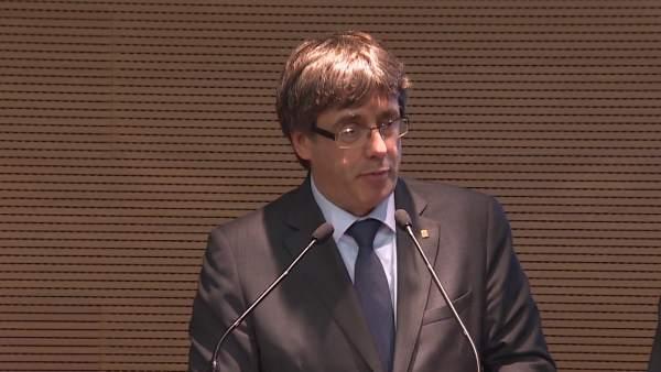 Puigdemont afirma que la Generalitat está preparada para un ciberataque