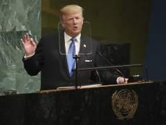 """Trump, en su estreno en la ONU, se declara dispuesto a """"destruir totalmente"""" a Corea del Norte"""