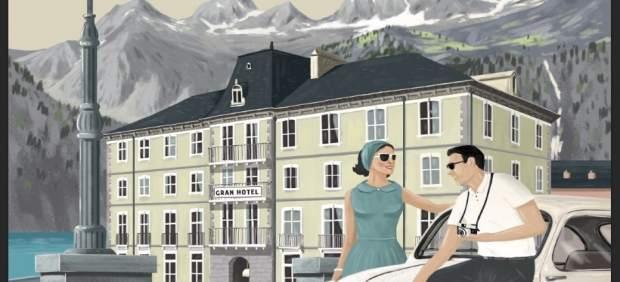 Portada del Almanaque de los Pirineos