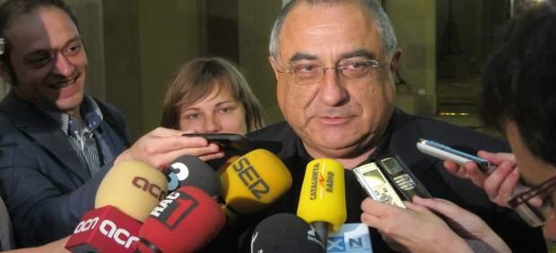 Joaquim Nadal Atiende A Los Medios