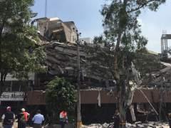 Al menos 292 muertos tras un terremoto en el centro de México