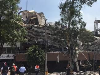 Ascienden a 292 los muertos del terremoto de magnitud 7,1 en el centro de México