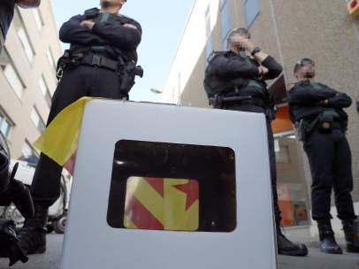 Miembros de la Guardia Civil