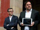 Josep Maria Jové Lladó y Oriol Junqueras