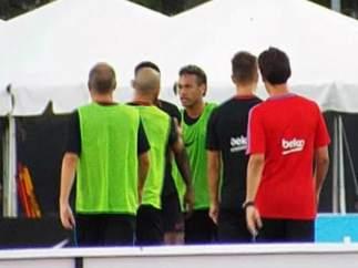 Neymar y Semedo (Barcelona)