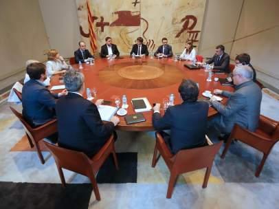 Reunión del Consell de Govern extraordinario