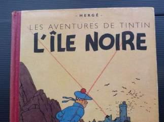 'Tintín y La Isla Negra'