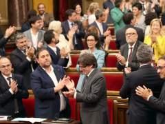 El TC anula los acuerdos del Parlament que permitieron convocar el 1-O