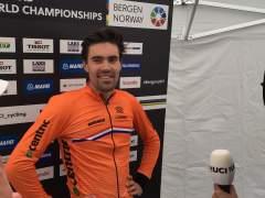 Dumoulin pulveriza el crono de los Mundiales de ciclismo