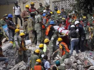 Descartan que el terremoto de este martes en México sea una réplica del temblor del día 7