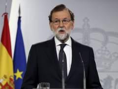 """Rajoy: """"Reclamo a la Generalitat que cese en sus actos ilegales"""""""