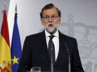 """Rajoy: """"Este referéndum ya no se puede celebrar. Es una quimera imposible"""""""