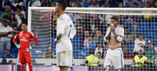 Cristiano, Ramos y Navas se lamentan