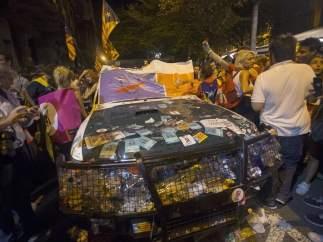 La Fiscalía pide que se investiguen por sedición los disturbios en Cataluña