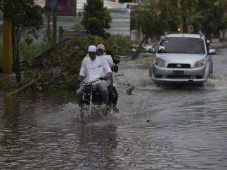 Inundaciones en Punta Cana por María