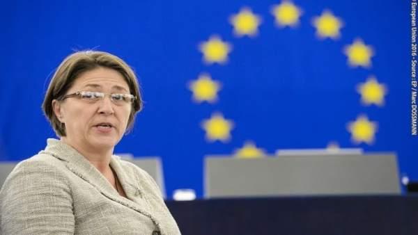 Violeta Bulc, comisaria de Transportes de la UE