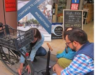 Artigas presneta la inciiativa 'Cuida tu bici, aquí'