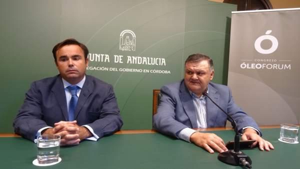 Francisco Zurera (dcha.) y Federico de las Morenas presentan el congreso