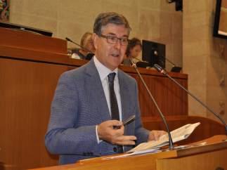 El consejero de Presidencia, Vicente Guillén