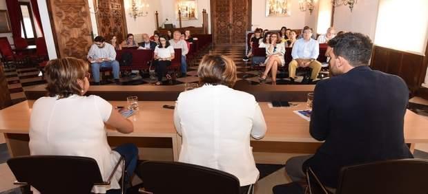 Reunión Diputación Asociaciones