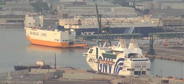 Crucero de los antidisturbios