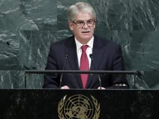 """Dastis no menciona a Cataluña en la ONU y asegura que se velará por los """"derechos de todos"""""""
