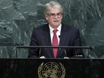 Alfonso Dastis, en las Naciones Unidas