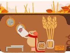 El equinoccio de otoño en el 'doodle' de Google