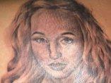 Tatuaje con una chica